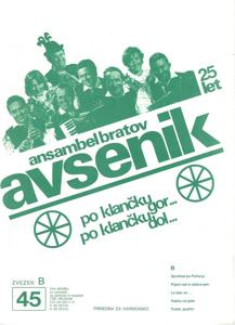 Picture of Big radio hits of the Avsenik Quintet nr.45