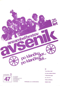 Picture of Big Radio Hits of the Avsenik Quintet No. 47