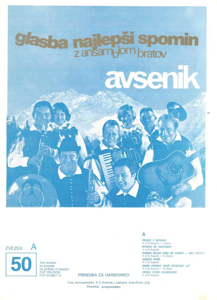 Picture of Big Radio Hits of the Avsenik Quintet No. 50