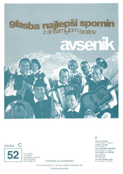 Picture of Big Radio Hits of the Avsenik Quintet No. 52
