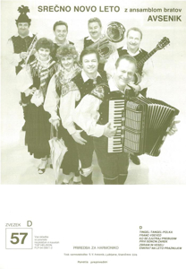 Picture of Big Radio Hits of the Avsenik Quintet No.  57