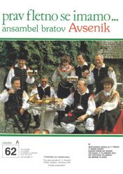 Bild von Die größten Radioerfolge des Quintetts Avsenik Nr.  62