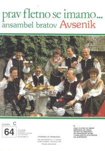 Picture of Big Radio Hits of the Avsenik Quintet No. 64