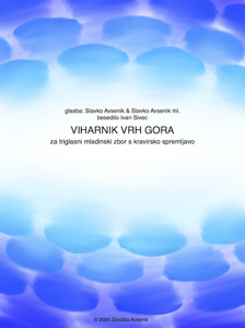 Picture of VIHARNIK VRH GORA - for juvenile choir and piano