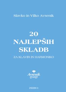 Picture of 20 najlepših skladb / zvezek št. 3
